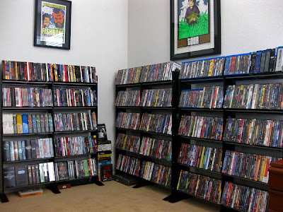 large movie collection