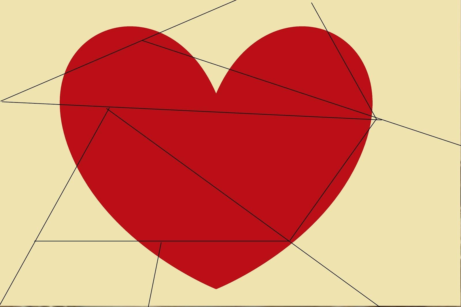 Wunderbar Herz Ausgeschnittene Vorlage Bilder - Entry Level Resume ...