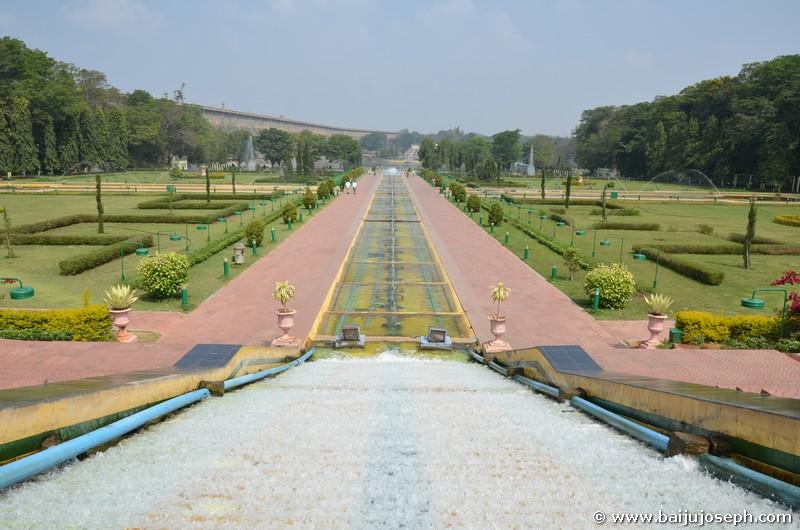 Brindavan Gardens Krishnarajendra Terrace Garden Mysore The