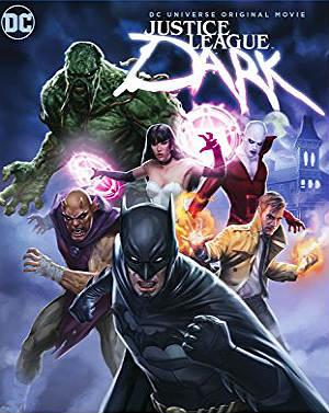 Filme Poster Liga da Justiça Sombria