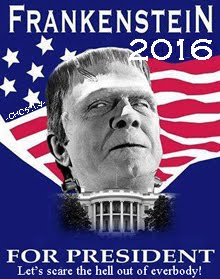 VOTE FOR FRANKENSTEIN 2016