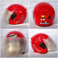 Helm Anak ARL/Bens Kids XTD Red Angry