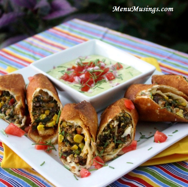 Menu Musings of a Modern American Mom: Southwestern Eggrolls with ...