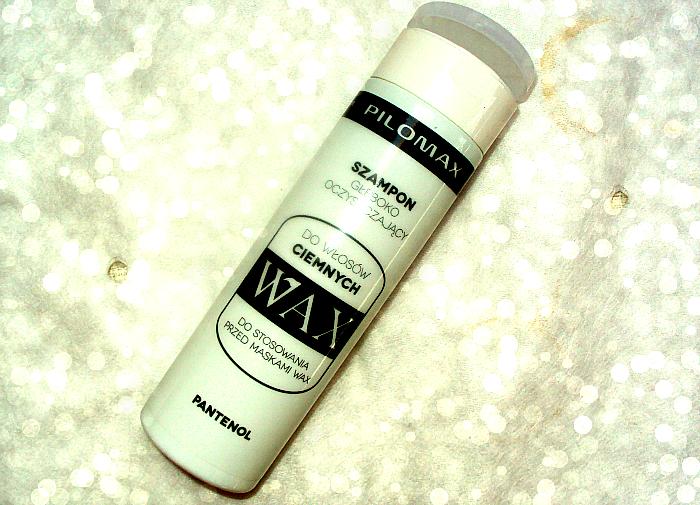Pilomax WAX Szampon głęboko oczyszczający z pantenolem do włosów ciemnych.