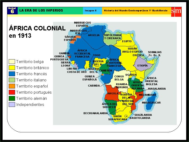 Mapa De Africa Para Nios