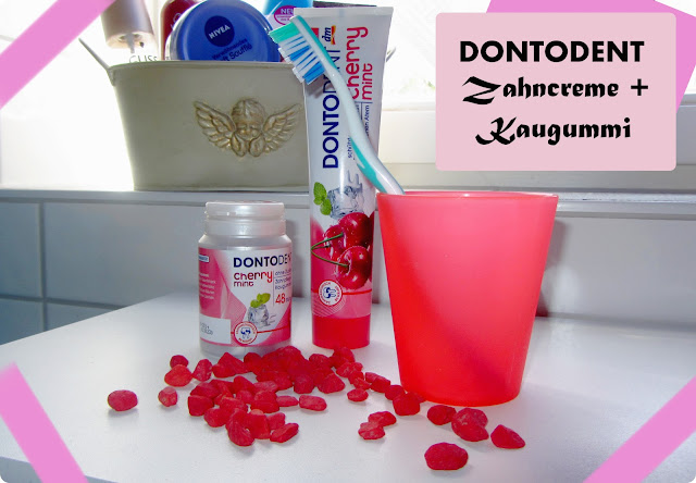 Review Dontodent Cherry Mint Zahncreme & Kaugummis