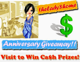 Giveaway @ Lady8Home