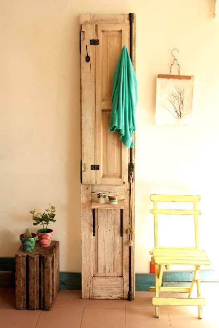 de puerta a perchero nobles pensamientos On puertas viejas recicladas