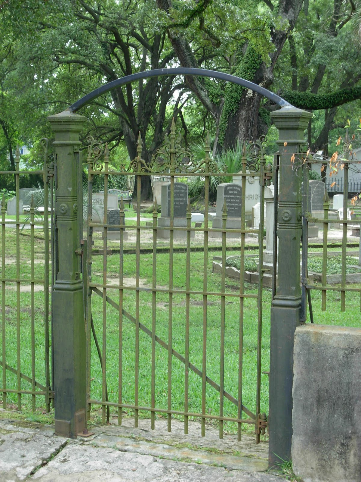 Gate Of The Beth Elohim Cemetery Photo 2011, By Lewis Powell Iv, All  Rights Reserved