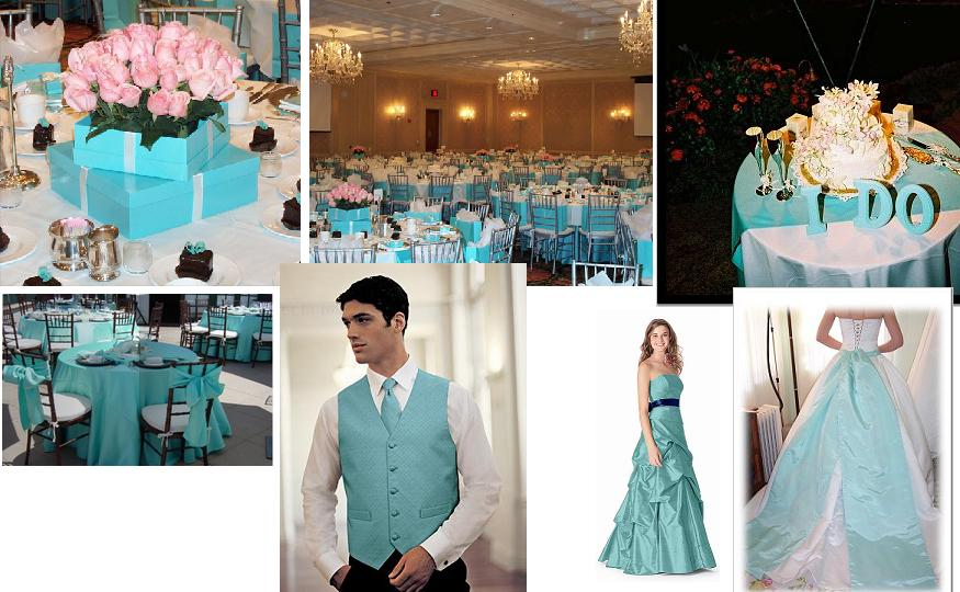Wedding Colors: Tiffany Blue Theme Ideas : Have your Dream Wedding
