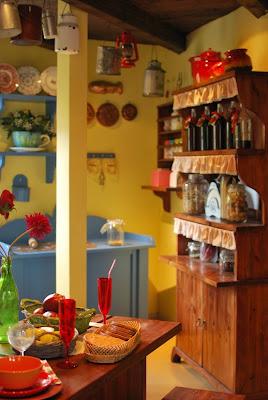 Muumimaailma - Muumitalon keittiö