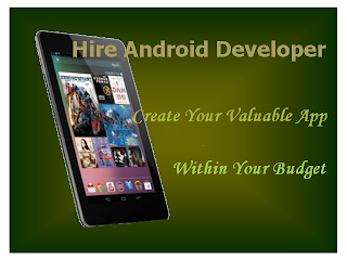Android app developer - Mobile Apps Development Team