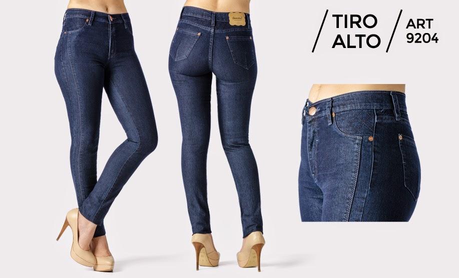 Jeans tiro alto marcas