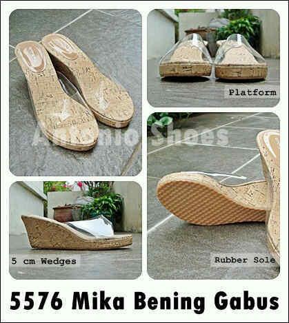 Aneka model sepatu sandal wanita murah,Model sandal wanita terbaru model mika bening