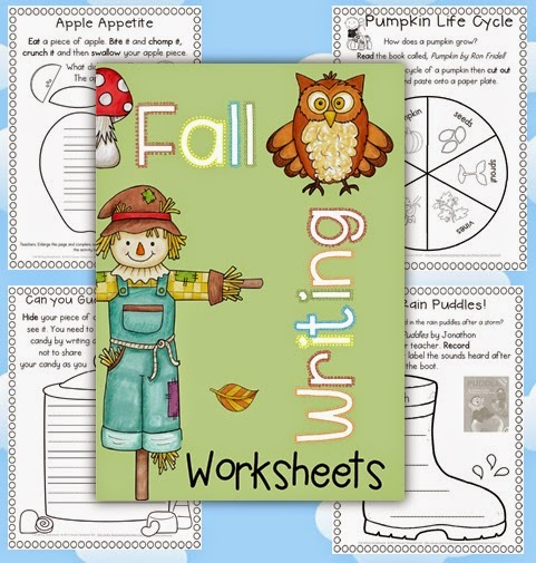 Fall Writing Worksheets/Printables