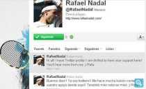 Nadal en Twitter cuenta oficial de Rafael Nadal en Twitter