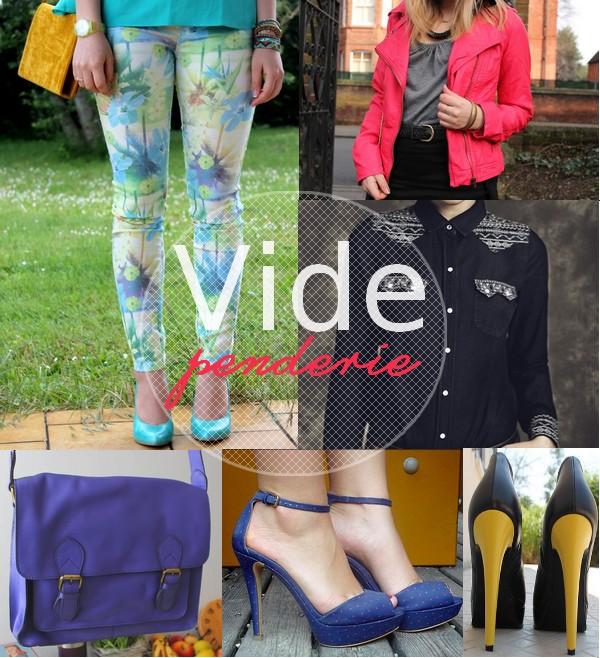 Vide dressing bon plan shopping