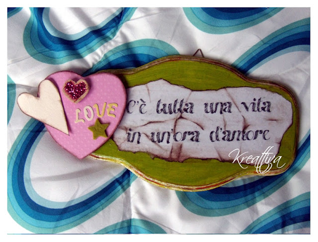 targhetta dell'amore