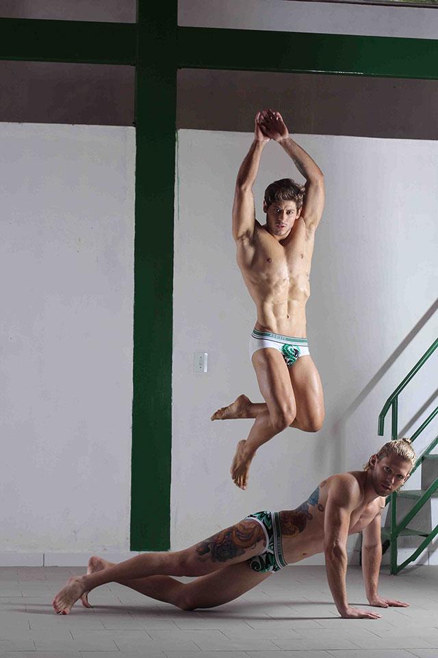Christian Toigo e Matheus Brendon. Foto: Jorge Beirigo/Divulgação