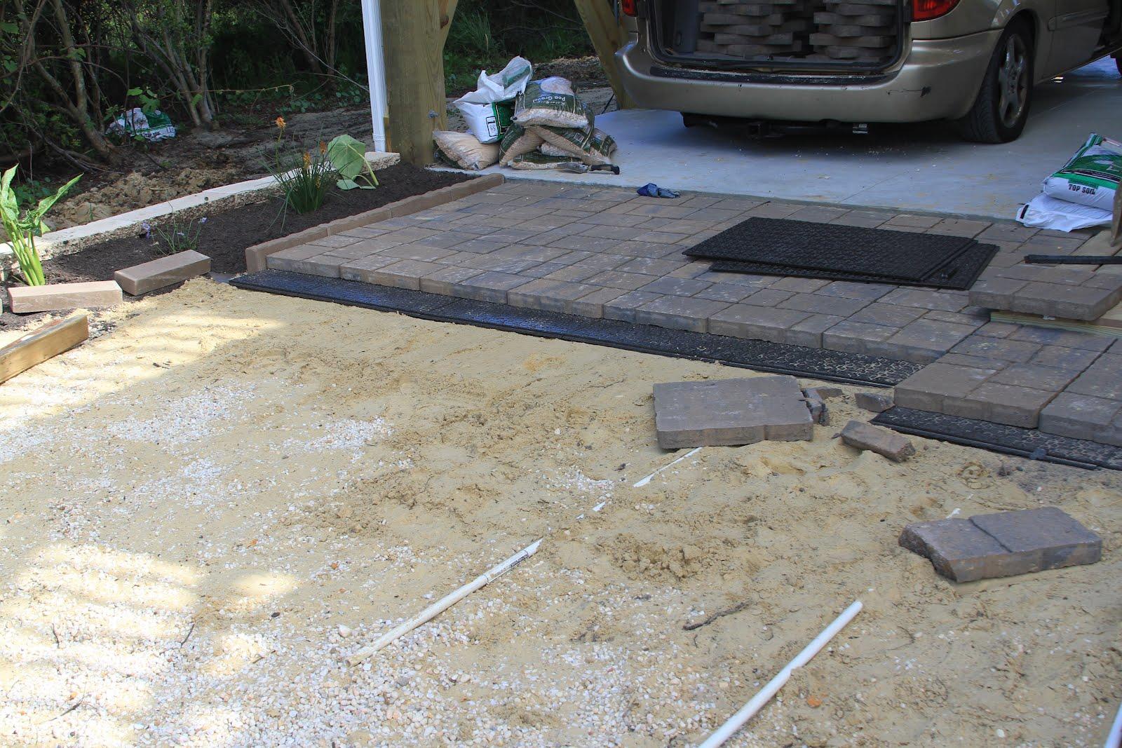 patio pavers lowes