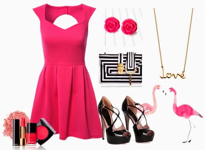 Mi mundo fucsia combinaci n fucsia y negro for Combinacion de color rosa