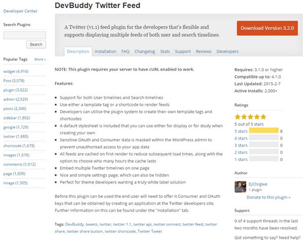 DevBuddy Twitter Feed