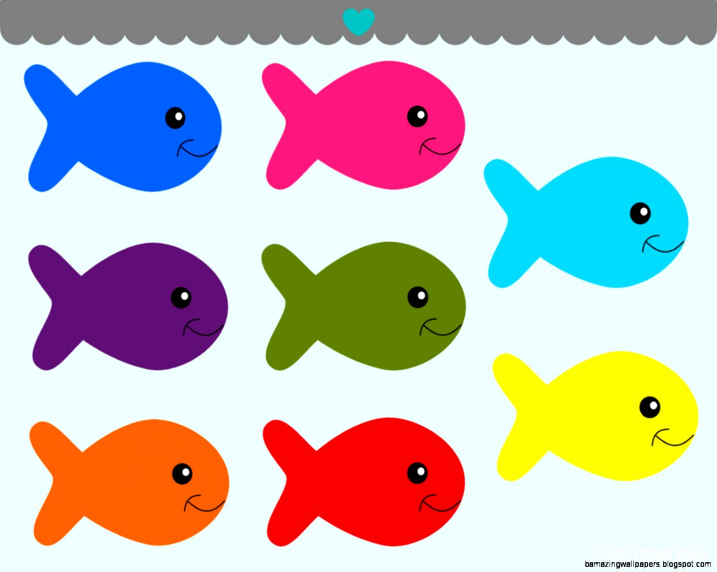 Clipart Fish Outline  Clipart Panda   Free Clipart Images