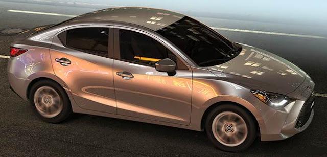 2016 Toyota Yaris Sedan Space