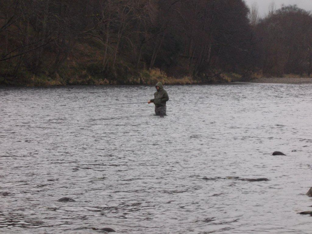 Dee don salmon fishing orton river spey for Fishing in the wind