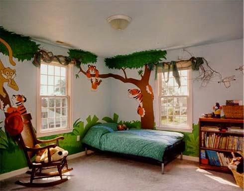 6 تصاميم اثاث غرف نوم اطفال حديثة   صور ديكورات حوائط و ارضيات غرف نوم اطفال