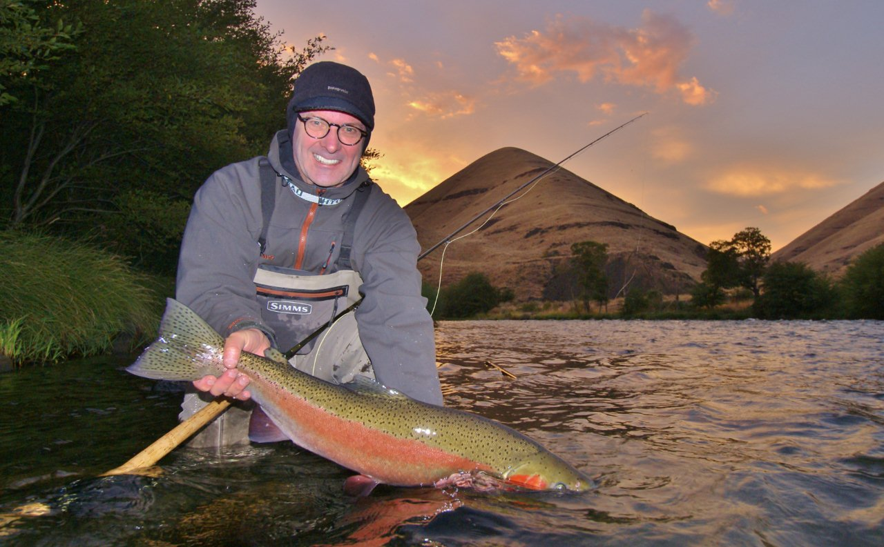 Fly fish oregon water time report deschutes river for Oregon steelhead fishing