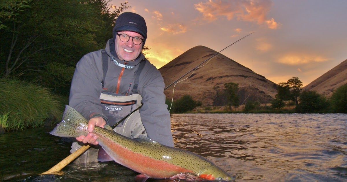 Fly fish oregon water time report deschutes river for Trask river fishing report