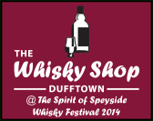Whisky Shop Dufftown at Spirit of Speyside