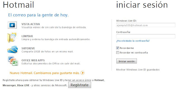 Hotmail mail