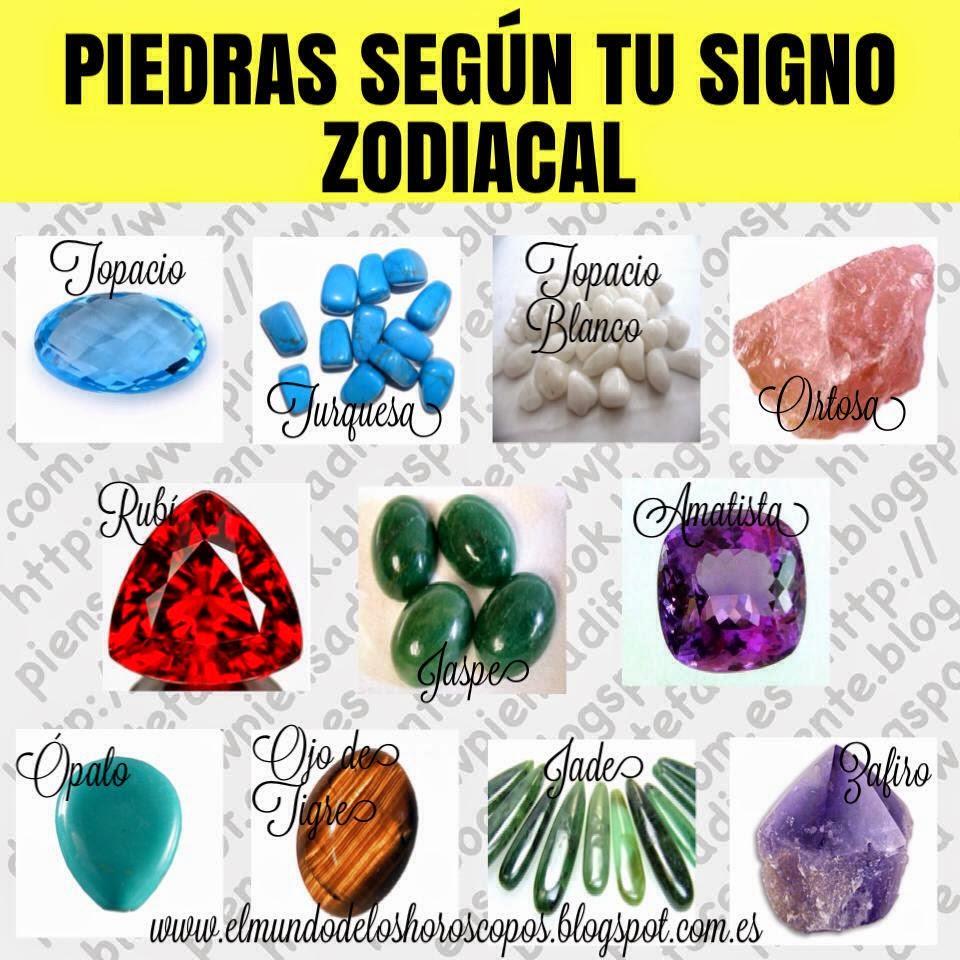 Piedras preciosas seg n tu signo del zodiaco - Como atraer la suerte a mi vida ...