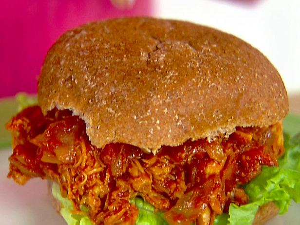 ... with Barry & Meta: Just 3 Ingredients! – Sloppy BBQ Chicken Sandwich