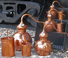 handcrafted pot stills