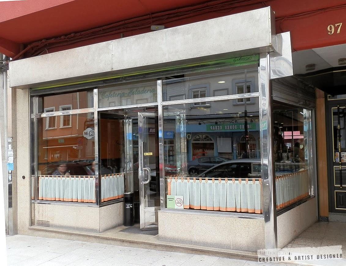 Proyecto de Interiosrismo Cafetería Gran Vía. (Antecedentes- Fachada)