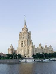 """Ένα απο τα επτά .....""""δόντια"""" του Στάλιν στην Μόσχα ( σήμερα τοHotel """"Ukraina"""""""