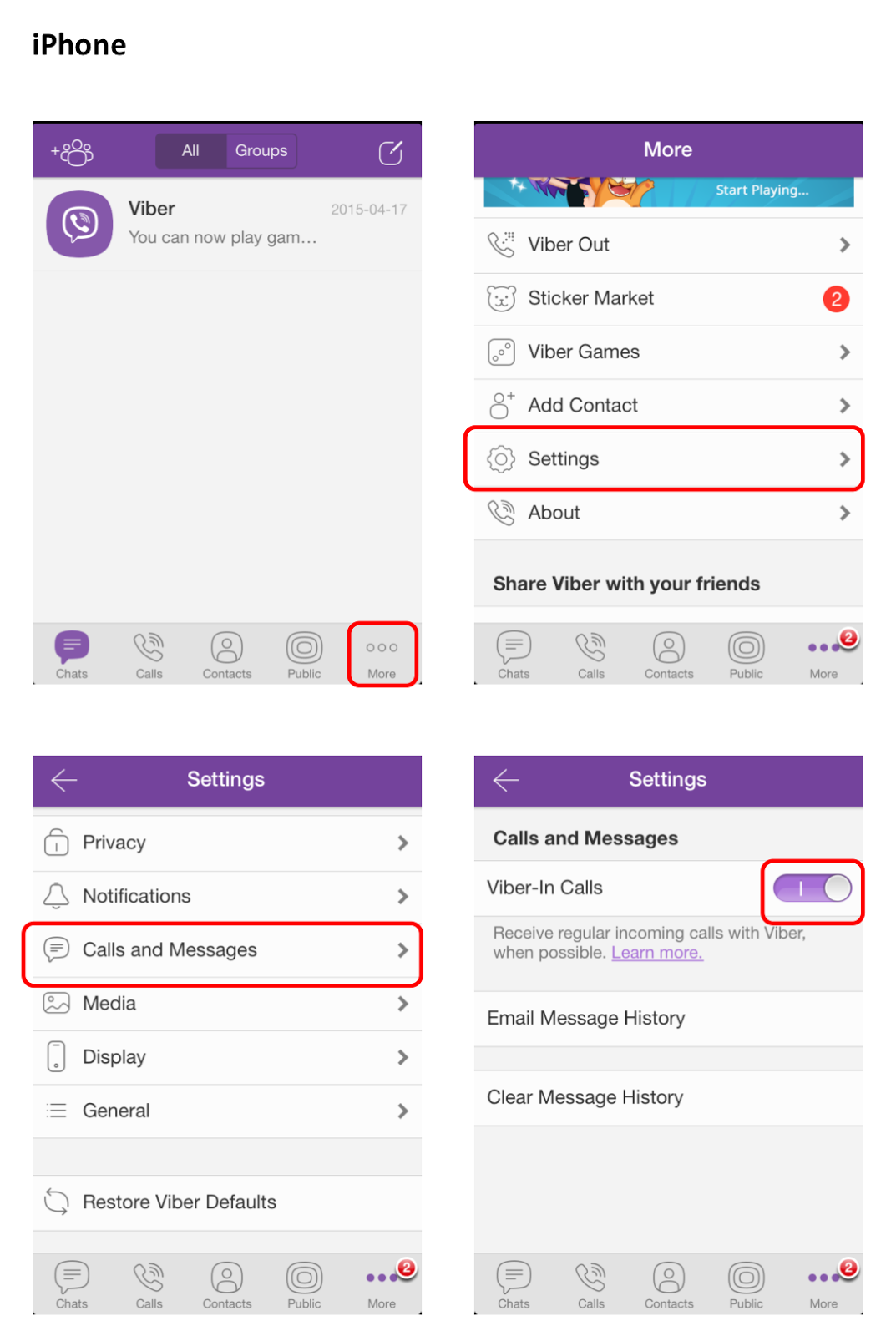 how to find viber number