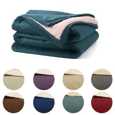 Ultra Plush Sherpa Comforter