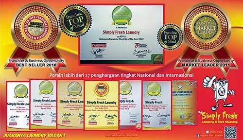 Peluang Usaha Franchise Waralaba Laundry Kiloan Profesional Terbesar Di Indonesia