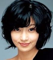 gambar rambut pendek ikal wanita korea