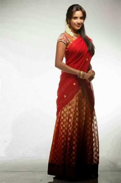 Priya Anand Images In Half Saree