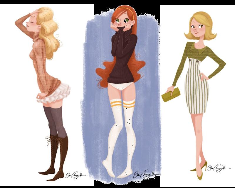 Elsa Chang ilustraciones