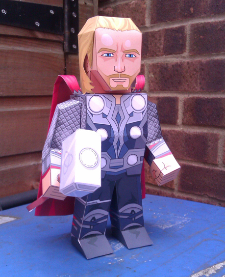 Avengers Thor Papercraft Papercraft Paradise PaperCrafts Paper