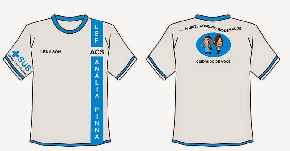 Uniforme%2BACS ACS cria e custeia seu próprio uniforme para trabalhar