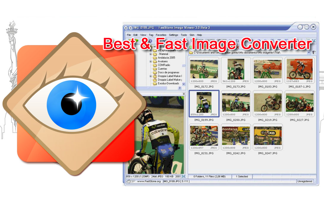 best free image viewer software full faststone image