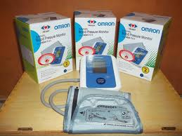 BERKAT MEDICAL Tensimeter Digital Omron HEM 7203