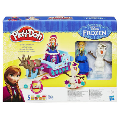 TOYS : JUGUETES - PLAY-DOH : Frozen  Aventura en trineo | Sled Adventure  Manualidades - Plastilina  Producto Oficial Disney 2015 | Hasbro B1860 | A partir de 3 años  Comprar en Amazon España & buy Amazon USA